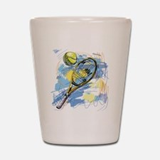 Funny Tennis Shot Glass