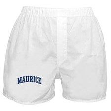 MAURICE design (blue) Boxer Shorts