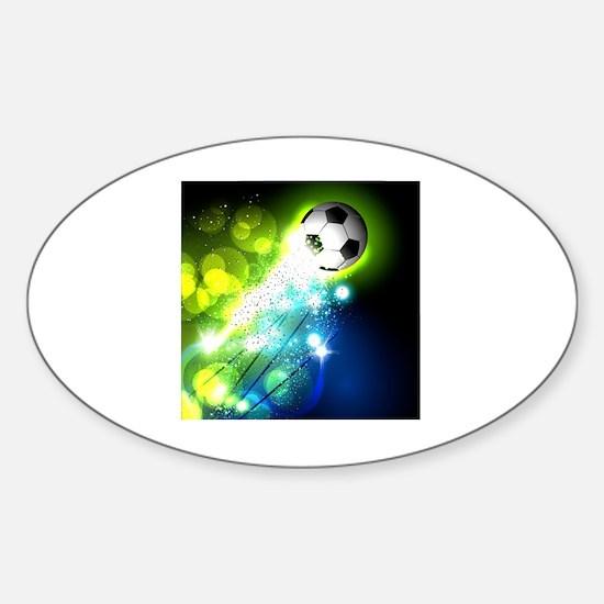 Cute Brochure Sticker (Oval)