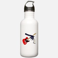 Country and Western Water Bottle