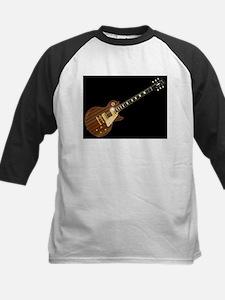 Solid Blues Guitar Baseball Jersey