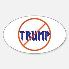 Anti Trump, no Trump Decal