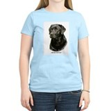 Black labrador Women's Light T-Shirt
