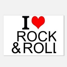 I Love Rock And Roll Postcards (Package of 8)