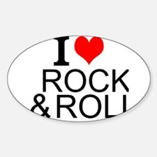 I Love Rock And Roll Decal