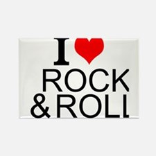 I Love Rock And Roll Magnets