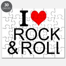 I Love Rock And Roll Puzzle