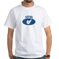 Mens Diving (blue circle) Shirt