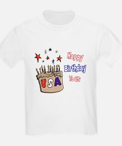 Happy Birthday To Us 1 T-Shirt