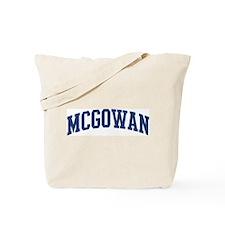 MCGOWAN design (blue) Tote Bag