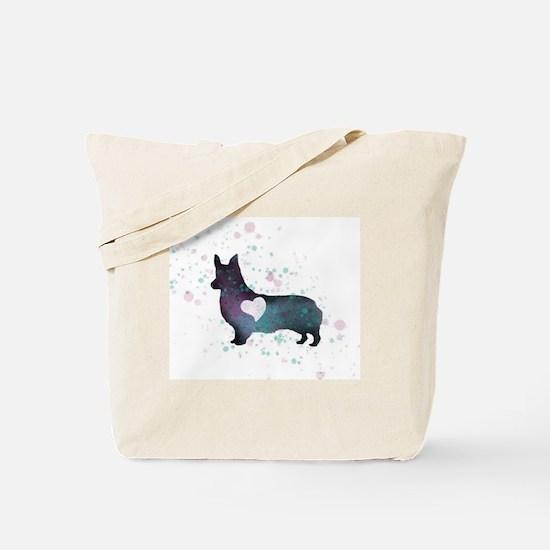 Funny Love dog Tote Bag