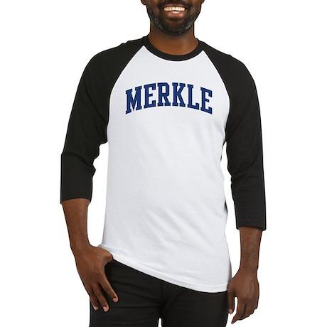 MERKLE design (blue) Baseball Jersey
