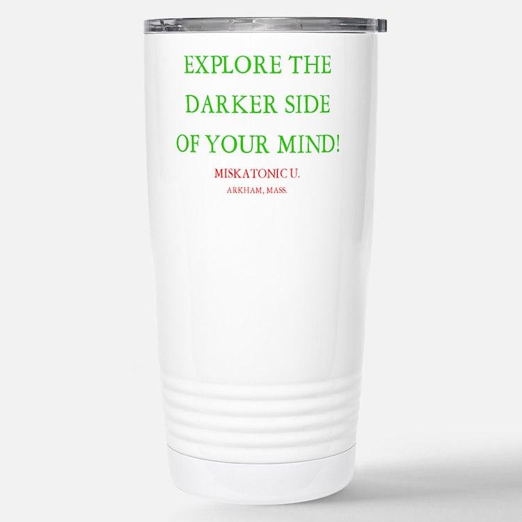 Cute Miskatonic Travel Mug