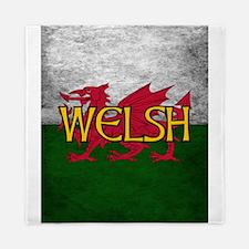 Welsh Red Dragon Flag Queen Duvet