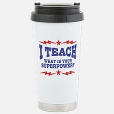 Funny Teach Travel Mug