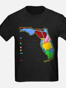 Funny Florida Map T-Shirt