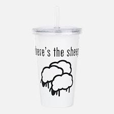 Where's The Sheep? Acrylic Double-Wall Tumbler