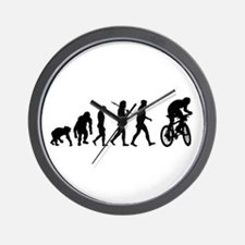 Mountain Bike Evolution Wall Clock