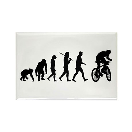Mountain Bike Evolutio Rectangle Magnet (100 pack)