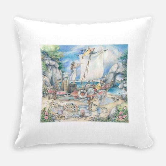 Sailing the Phoenix Everyday Pillow