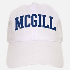 MCGILL design (blue) Baseball Baseball Cap