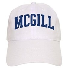 MCGILL design (blue) Baseball Cap