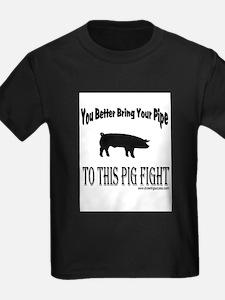 Pig Jockin Ash Grey T-Shirt