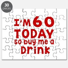 I am 60 today Puzzle