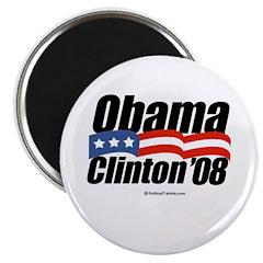 Obama Clinton '08 2.25