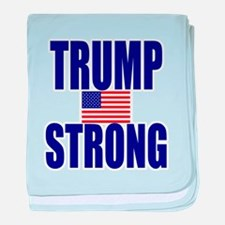 Trump Strong baby blanket