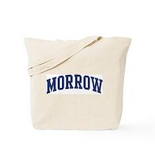 MORROW design (blue) Tote Bag