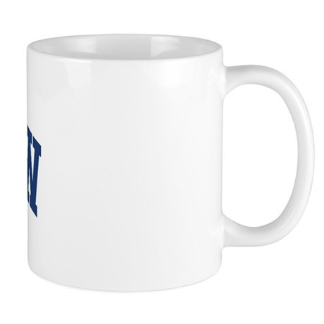 MORROW design (blue) Mug