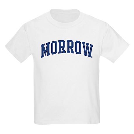 MORROW design (blue) Kids Light T-Shirt