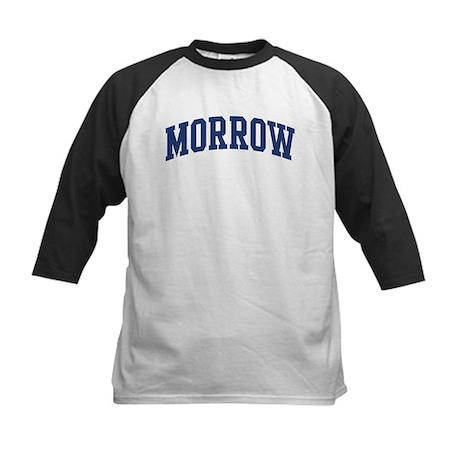 MORROW design (blue) Kids Baseball Jersey