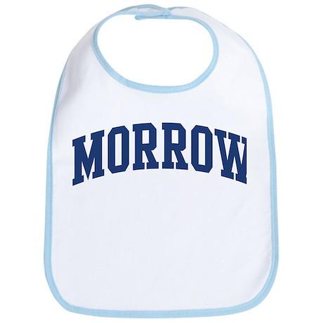 MORROW design (blue) Bib