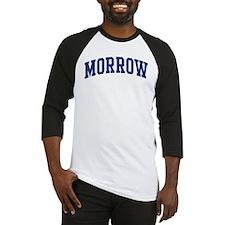 MORROW design (blue) Baseball Jersey