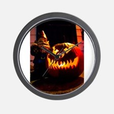 Scary Travels Wall Clock