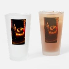Scary Travels Drinking Glass