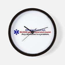 Air/Blood... Wall Clock