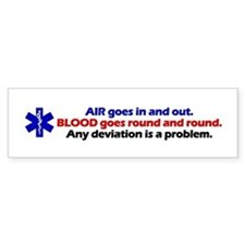 Air/Blood... Bumper Bumper Sticker