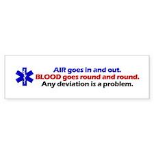Air/Blood... Bumper Stickers
