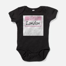 Funny Girl name Baby Bodysuit