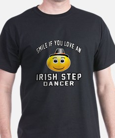 Irish Step Dancer Designs T-Shirt