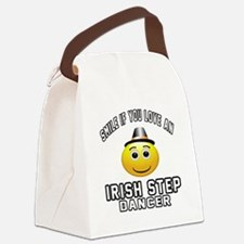 Irish Step Dancer Designs Canvas Lunch Bag