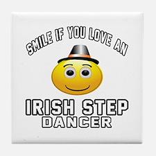 Irish Step Dancer Designs Tile Coaster