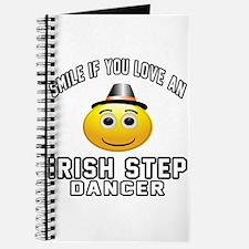 Irish Step Dancer Designs Journal