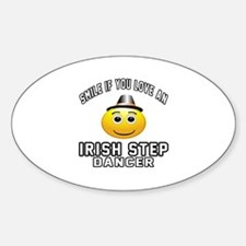 Irish Step Dancer Designs Decal