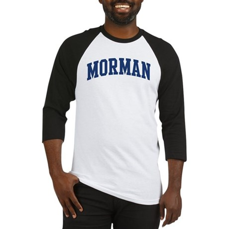 MORMAN design (blue) Baseball Jersey