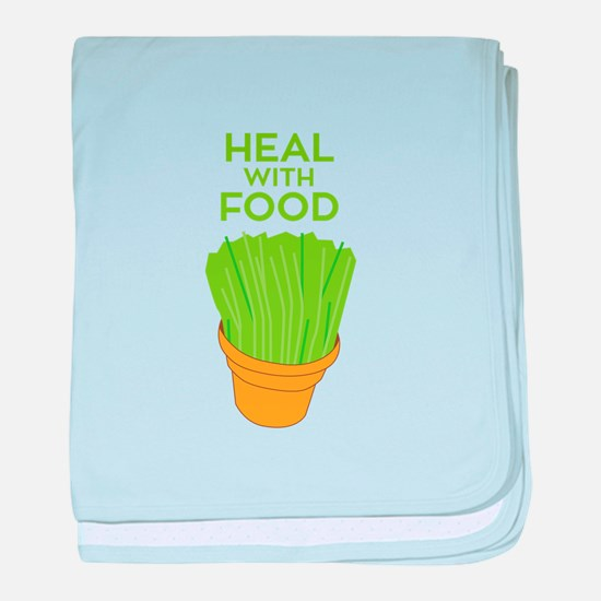 Heal With Food baby blanket