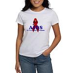 AIDS RIBBON Women's T-Shirt